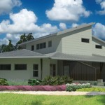 Front rendering (photo courtesy: Moreland Architecture + Sustainable Design)