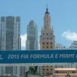 E Miami ePrix banner