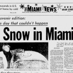 60 Years Ago: Snow in Miami #TBT