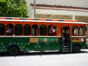 Miami Trolley, © 2012 Melanie Dawn Molina Wood