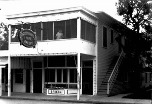 Tobacco Road when it was known as the Rosenquist Bakery (photo courtesy of Miami-History.com)