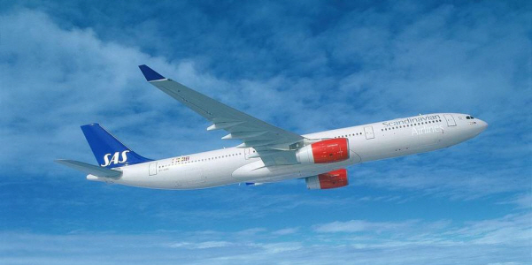 Scandinavain Airlines 600x300