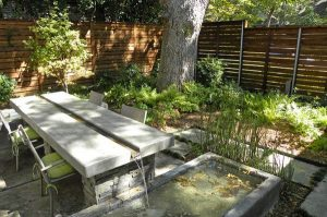 Backyard Water Feature Table