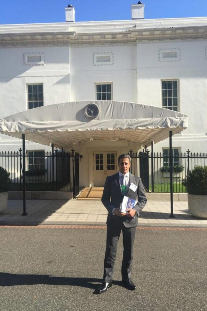 Alberto Carvalho, Superintendent of Miami Dade County Public School System, at the White House on November 15, 2016 (photo courtesy: MDCPS)