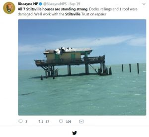 Stiltsville Sept. 19, 2017 Miami Florida